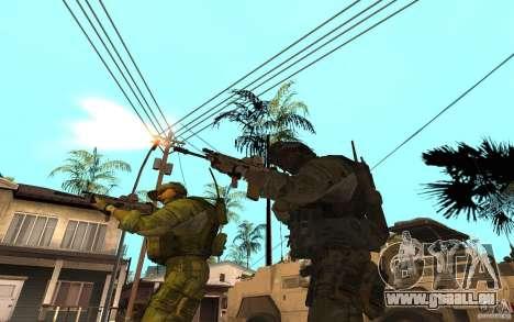 SCAR FN MK16 für GTA San Andreas dritten Screenshot
