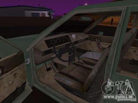 Machine de CoD: MW pour GTA San Andreas vue arrière