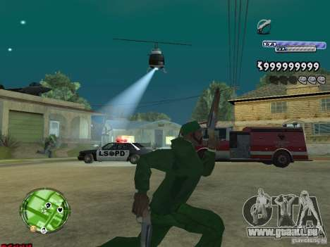 C-HUD v2.0 für GTA San Andreas her Screenshot