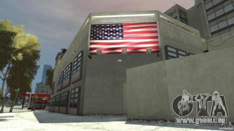 Remake police station pour GTA 4 troisième écran