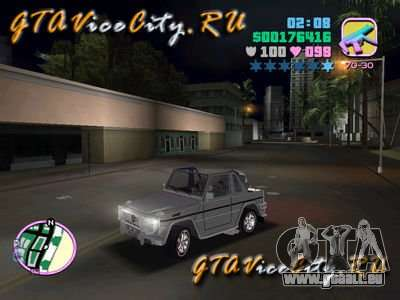 Mercedes-Benz G-Cabrio pour GTA Vice City