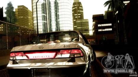 Infiniti I30 A32 Kouki pour GTA San Andreas salon