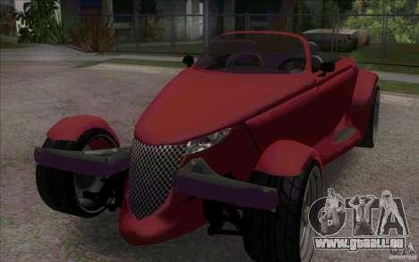 Plymouth Prowler für GTA San Andreas