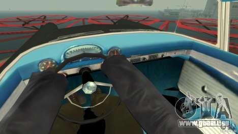 Smith Thunderbolt Mafia II pour GTA 4 est une vue de l'intérieur