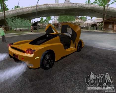 Ferrari Enzo pour GTA San Andreas vue intérieure