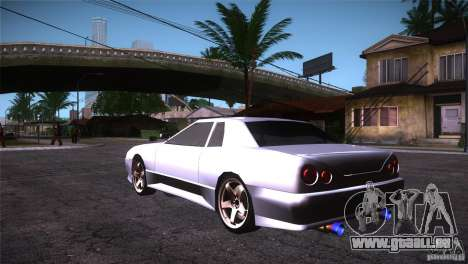 Elegy Drift für GTA San Andreas zurück linke Ansicht