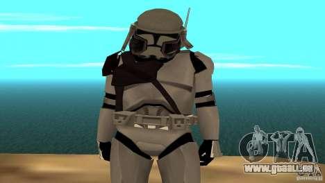 Commander Bacara pour GTA San Andreas