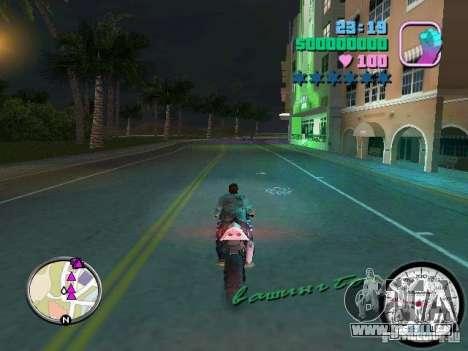 Compteur de vitesse GTA Vice City pour la troisième écran