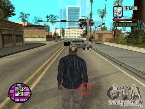 Étron pour GTA San Andreas deuxième écran