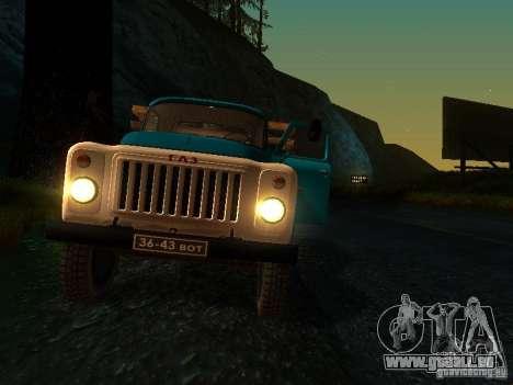 GAZ 53 pour GTA San Andreas vue de dessus