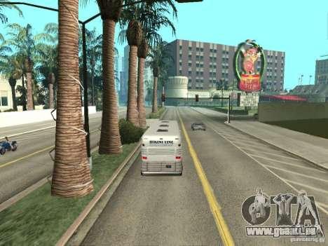 Ligne de bus à Las Venturas pour GTA San Andreas huitième écran