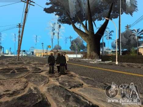 Silvester in der Grove Street für GTA San Andreas sechsten Screenshot