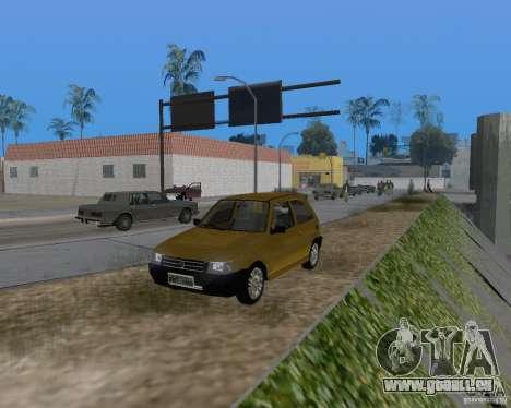 Fiat Mille Fire 1.0 2006 pour GTA San Andreas vue de côté