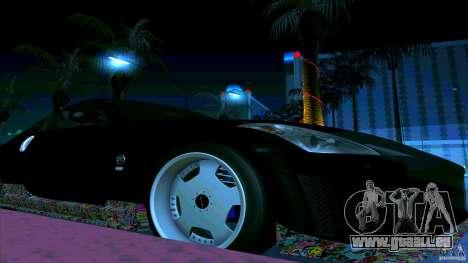 Nissan 350Z JDM pour GTA San Andreas vue arrière