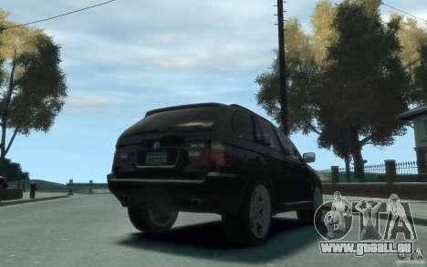 BMW X5 (E53f) 2004 pour GTA 4 est un droit