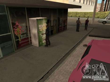 Lebendige Raum v1. 0 für GTA San Andreas her Screenshot
