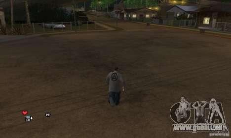 Beta v0.1 pull Linkin Park pour GTA San Andreas deuxième écran