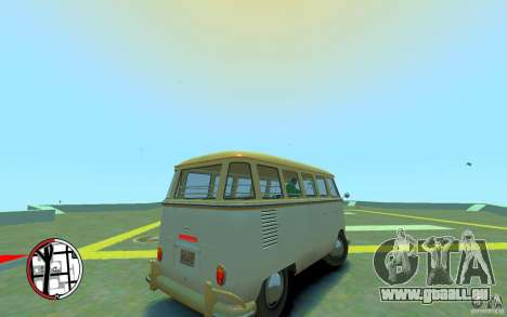Volkswagen T1 Bus 1967 für GTA 4 rechte Ansicht