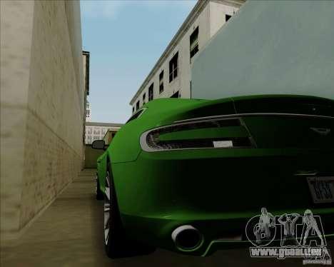 Aston Martin Rapide 2010 V1.0 pour GTA San Andreas vue intérieure