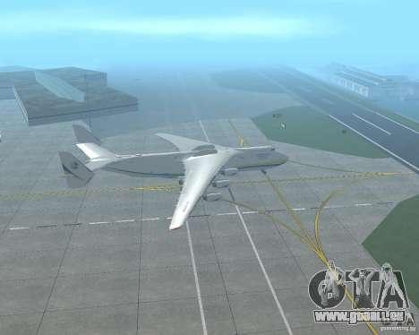 L'an-225 Mriya pour GTA San Andreas laissé vue