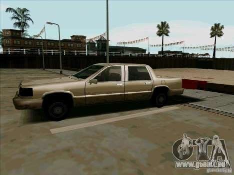 Une Limousine courte pour GTA San Andreas laissé vue