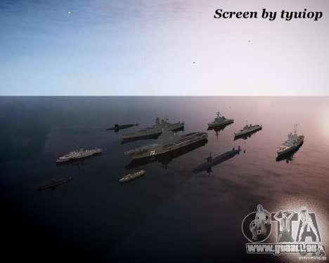 Marine pour GTA 4 secondes d'écran