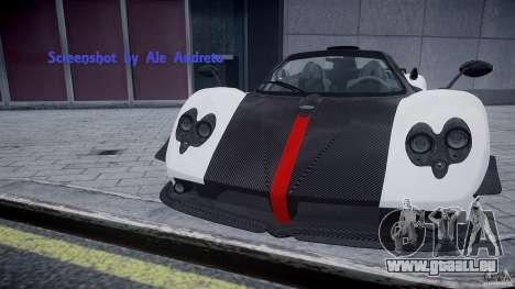 Pagani Zonda Cinque Roadster pour GTA 4