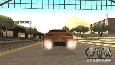 Chevrolet Camaro SS 2010 v2.0 Final für GTA San Andreas zurück linke Ansicht