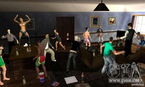 Projekt x beim Aufbau von CJ für GTA San Andreas dritten Screenshot