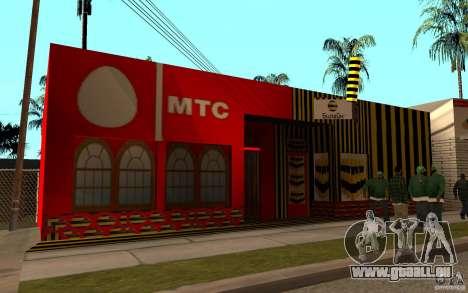 Catalogue MTS et Beeline pour GTA San Andreas