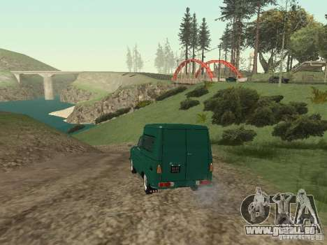 IZH 2715 pour GTA San Andreas vue de droite