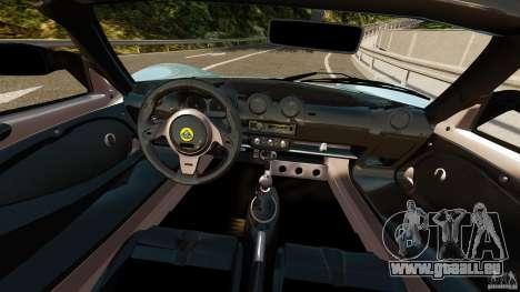 Lotus Exige S 2012 pour GTA 4 Vue arrière
