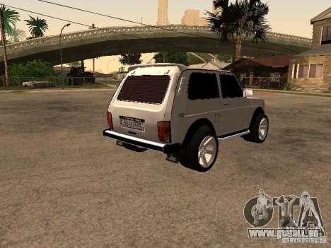 Armenian NIVA DORJAR 4 x 4 pour GTA San Andreas vue de droite