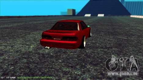 Nissan Onivia pour GTA San Andreas sur la vue arrière gauche