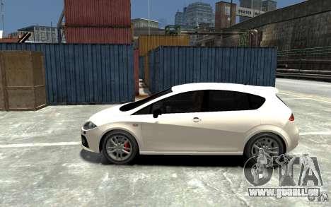 Seat Leon Cupra v.2 für GTA 4 linke Ansicht