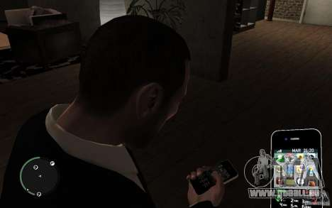iPhone 4 black für GTA 4