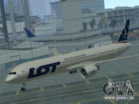 Boeing 787-9 LOT Polish Airlines für GTA San Andreas Motor