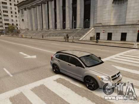 Dodge Caliber pour GTA 4 est une vue de dessous