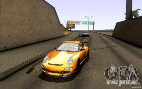 Porsche 911 GT3 RS für GTA San Andreas Rückansicht
