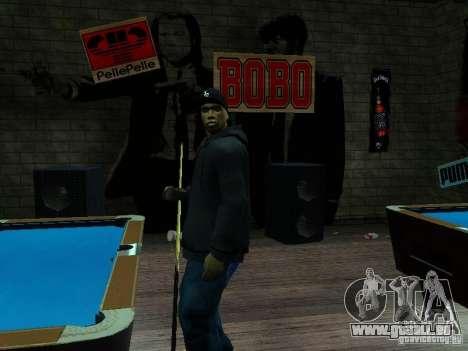 Crips pour GTA San Andreas deuxième écran