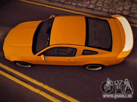 Ford Mustang GT 2010 Tuning pour GTA San Andreas vue de droite