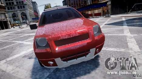 Ford EcoSport pour GTA 4 est une vue de l'intérieur