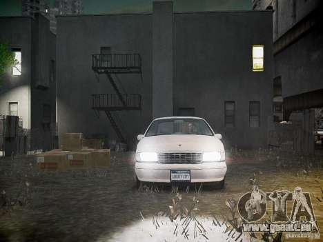 Chevrolet Caprice 1993 Rims 1 für GTA 4 obere Ansicht