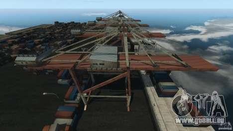Tokyo Docks Drift pour GTA 4 troisième écran