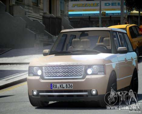 Land Rover SuperSharged für GTA 4 linke Ansicht