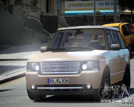 Land Rover SuperSharged pour GTA 4 est une gauche