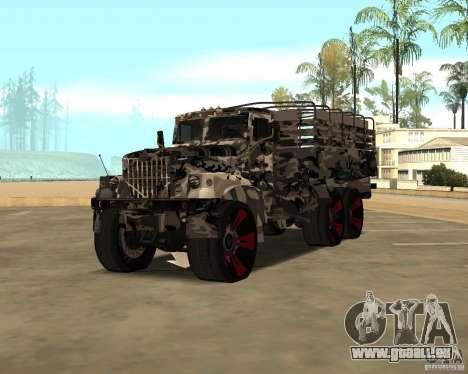 Ural 5773 Tuning für GTA San Andreas