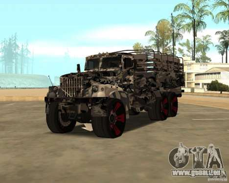 Ural 5773 Tuning pour GTA San Andreas
