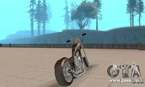 Desperado Chopper für GTA San Andreas linke Ansicht