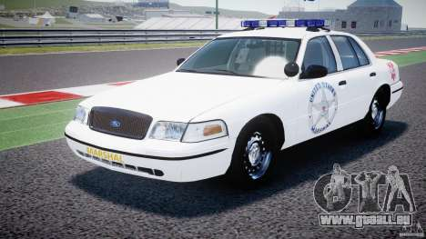 Ford Crown Victoria US Marshal [ELS] für GTA 4